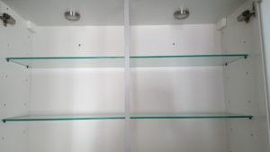 Figure 3: Lit cabinet