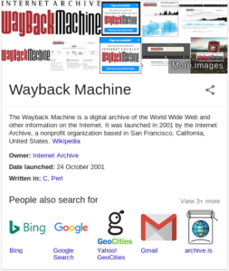 Search from Google...